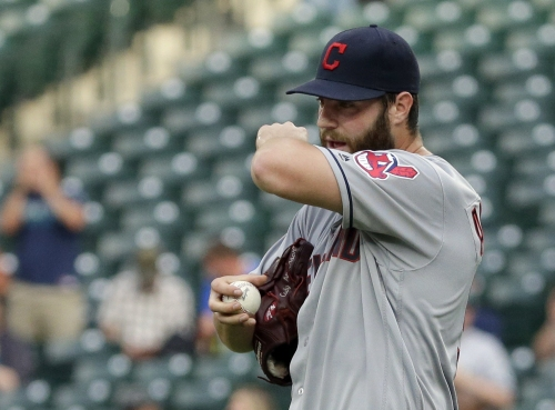 Cleveland Indians' Cody Anderson has sprained UCL in right elbow