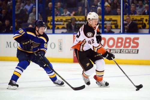 Ducks @ Blues PREVIEW: Hockey Notes