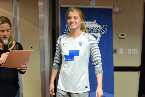Libby Stout out four to six weeks with ankle sprain