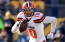 Cleveland Browns releasing QB Robert Griffin III