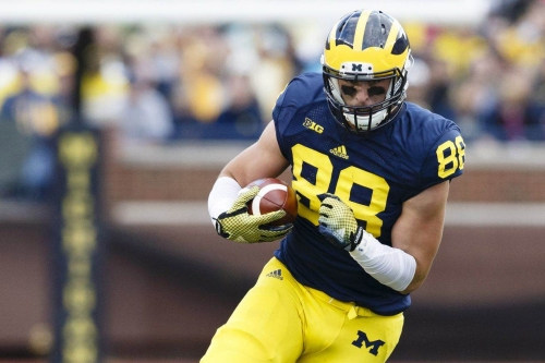 Cowboys Draft Target: Michigan TE Jake Butt May Fall Into Dallas' Lap ⋆
