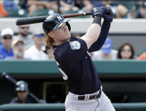 Former Cleveland Indians top prospect Clint Frazier cuts long hair for Yankees