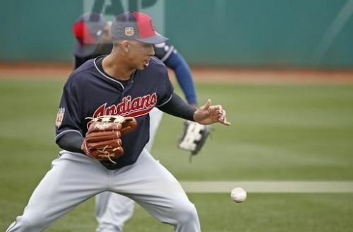 Cleveland Indians' Michael Brantley shows good 'bounce' in simulated game