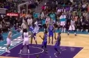 Marvin Williams just dunked all over Bismack Biyombo
