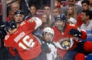 Parise, Staal lead Wild over Panthers, 7-4