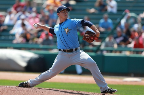 Tampa Bay Rays spring training game fourteen lineups against the Pittsburgh Pirates