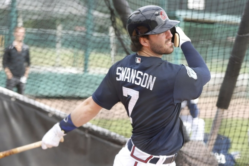 Dansby Swanson says back is non-issue