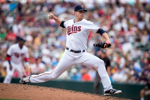 Trevor May has torn ligament