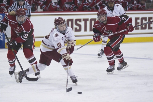 GOAL BY GOAL: BC Women's Hockey Thrashes St. Lawrence 6-0 To Advance To The Women's Frozen Four!