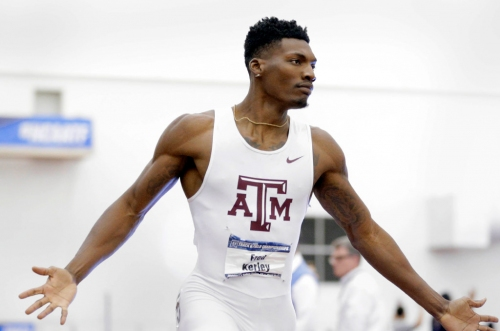 Texas A&M men win first indoor championship on home track