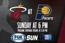Miami Heat at Indiana Pacers game preview
