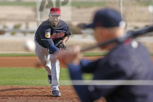Cleveland Indians option three, including Perci Garner, in first cut of spring training