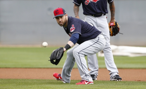 Cleveland Indians' Jason Kipnis likely to miss season opener because of sore right shoulder