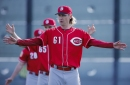 Bronson Arroyo returns as Reds beat Brewers and Rockies in split-squad games