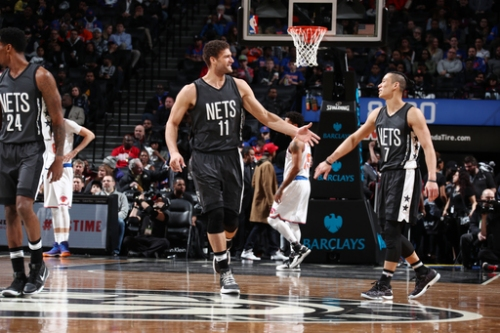 Nets hold off Knicks 120-112 for 1st home win of 2017 The Associated Press