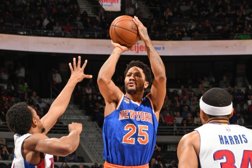 The irony of Derrick Rose, of all people, resisting Knicks' offense