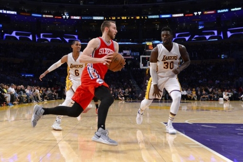 Saric, Okafor lead 76ers past Lakers 118-116 The Associated Press