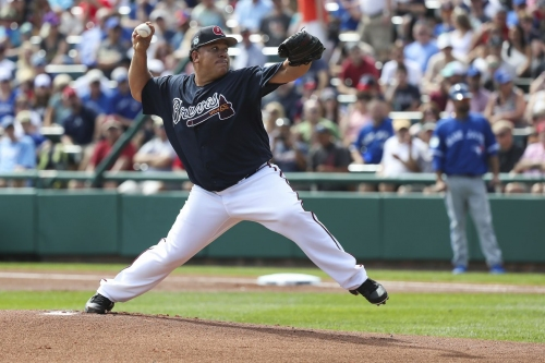 Bartolo struggles, but Braves rally and Adam Walker walks the Braves off 7-6