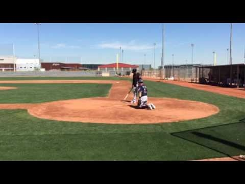 Cleveland Indians' Michael Brantley shows sweet swing, sharp tongue in simulated game