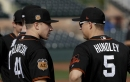 With Posey at WBC, Nick Hundley catching on quick with Giants' pitching staff