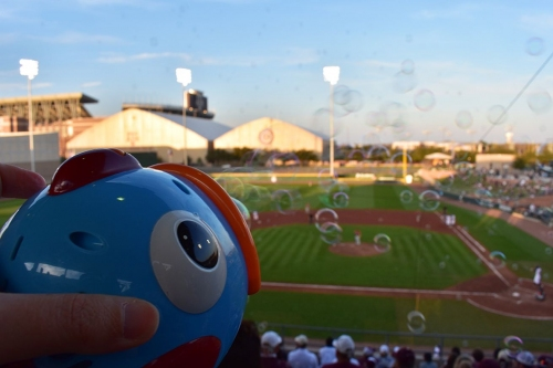 Aggie Baseball Sweeps Brown, Faces Texas Tonight