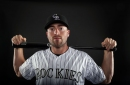 The Rockies should consider Tom Murphy for part-time play at first base