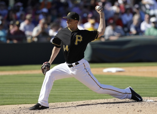 SPRING TRAINING: Watson relishing closer role for Pirates