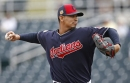 Cleveland Indians' Carlos Carrasco has swelling in right elbow; will miss probably start