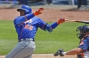 Yoenis Cespedes' bat is sizzling and ready