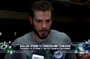 Tyler Seguin talks tough loss to Oilers