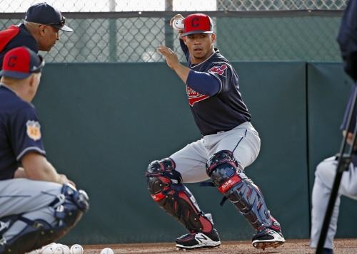 Cleveland Indians option Francisco Mejia to Class AA Akron; Nellie Rodriguez reassigned
