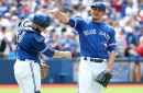 Osuna, Martin's knock-knock celebration is a product of their Blue Jays bromance