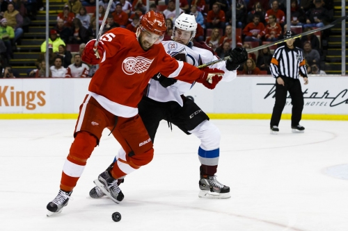 Gameday Updates: Detroit Red Wings at Colorado Avalanche: Line Combinations, Key Matchups