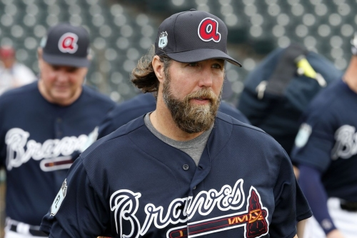 Tigers maul Dickey, Braves lose 8-6