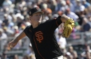 The Giants finally hinted that Matt Cain might not get the fifth starter's job