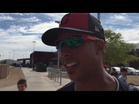 Cleveland Indians' Michael Brantley answers boos with two-run double in minor league game