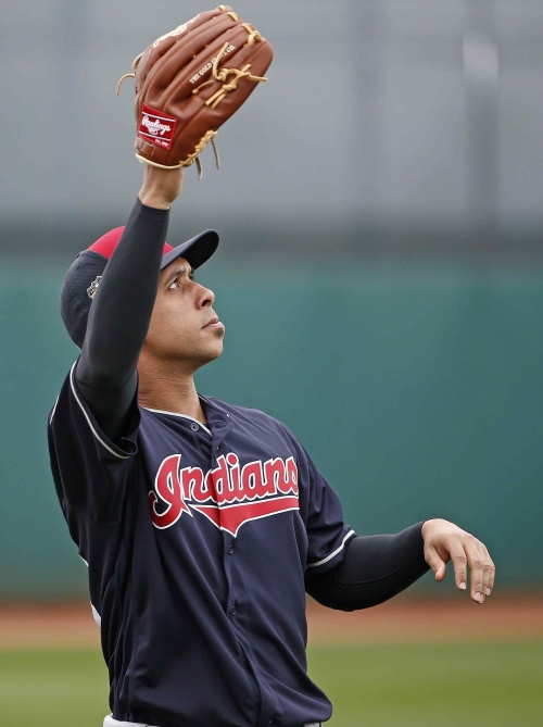 Brantley doubles in minor league game