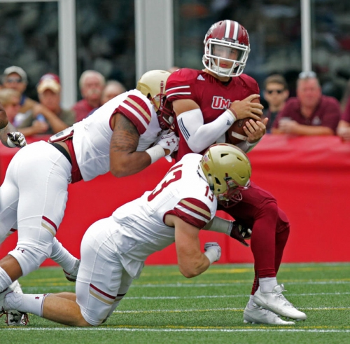 Boston College football looks at areas for improvement at spring practice