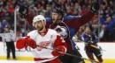 Duchene ends slump as Avalanche beat Red Wings 3-1