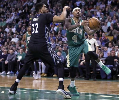 Isaiah Thomas injury: Boston Celtics star not traveling for games against Brooklyn Nets, Philadelphia 76ers