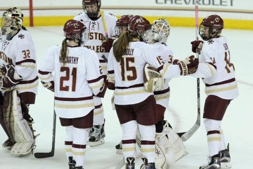 Wisconsin women's hockey: Frozen Four Q&A with BC Interruption