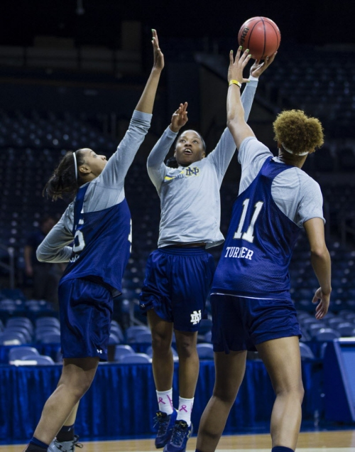 Notre Dame women hope to get off to a fast start against Robert Morris