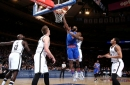 Nets beat Knicks again, get 121-110 win at MSG The Associated Press