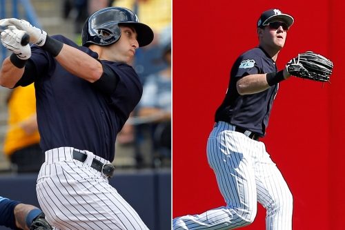 Yankees' heirs to Brett Gardner are ahead of schedule