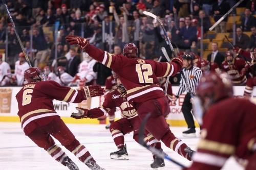 Hockey East Men's Championship: How to Watch Boston College Men's Ice Hockey vs. Boston University
