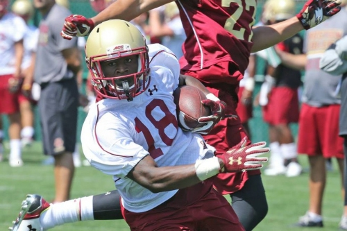 Boston College Spring Football: Up Tempo To Continue This Fall?