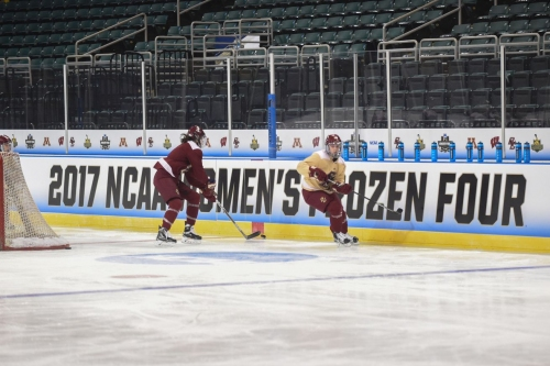 BC vs. Wisconsin at the Women's Frozen Four: Game Time, How To Watch, and More