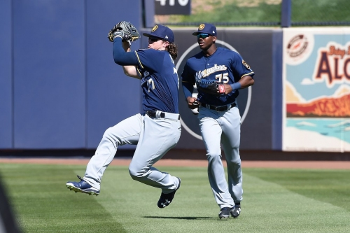 Lewis Brinson among third round of roster cuts for Milwaukee Brewers
