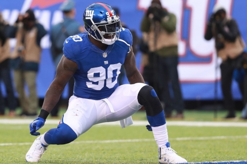 """Jason Pierre-Paul """"couldn't imagine"""" not being with New York Giants"""