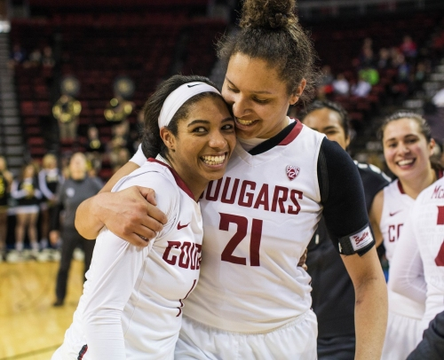 Amidst March Madness craziness, WSU women's basketball quietly notched its first postseason win in program history